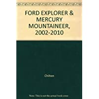 FORD EXPLORER & MERCURY MOUNTAINEER, (2008 Ford Explorer)