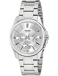 CASIO MTP-1375D-7 - Reloj con movimiento cuarzo, para hombre, color gris y plateado