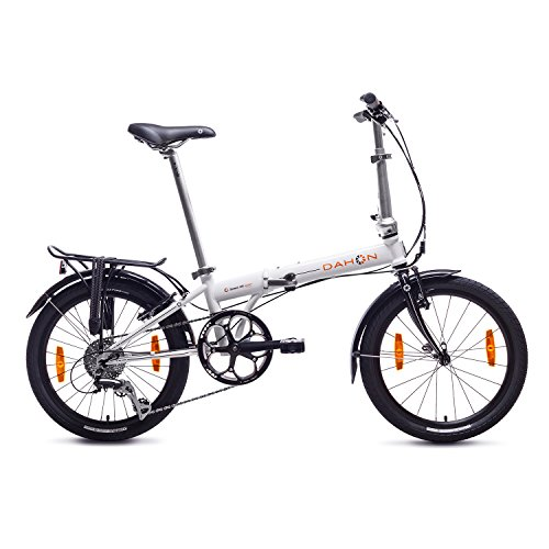 DAHON SPEED D8 BICICLETA PLEGABLE  UNISEX ADULTO  BLANCO CLOUD  20