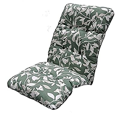 Replacement Deluxe Thick High Back Garden Chair Thick Cushion Pad Ashley Green - inexpensive UK light shop.