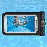 Magma®. Funda sumergible universal para móvil . Bolsa impermeable para teléfonos hasta 6,2 pulgadas. Estanca IPX8. iPhone 7 / 7plus / 6 plus , Galaxy S8 / S8+/ S7 / S7 Edge… Permite fotos y videos bajo el agua.