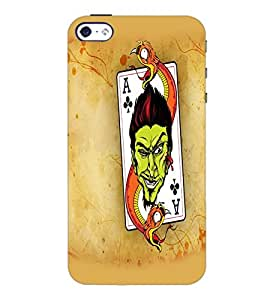 PrintDhaba Cards D-5565 Back Case Cover for APPLE IPHONE 4S (Multi-Coloured)