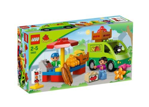 LEGO DUPLO - LEGOville - 5683 - Jouet Premier Age - Le Marché