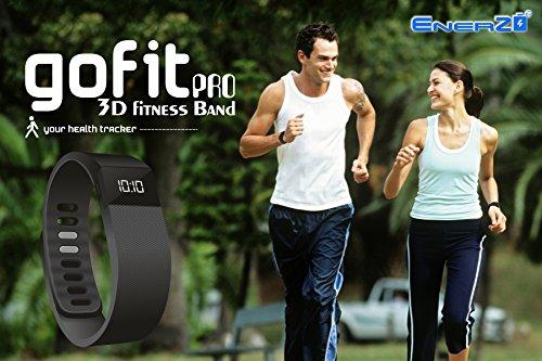 EnerZ Gofit Pro 3D Fitness Band – Black