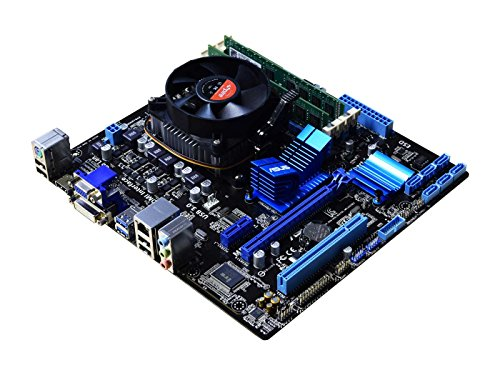 Deals For ADMI PC COMPONENT UPGRADE BUNDLE: AMD FX-8300 Eight Core 4.2GHz Turbo – Asus M5A78L-M PLUS/USB3 HDMI Motherboard – 16GB DDR3 1600MHz RAM – Incredible value desktop PC upgrade solution ideal for multimedia and gaming PC's and general purpose desktop computers Special