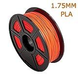 TIANLIANG04 PLA 1.75/3.00mm Fluoreszenz Filament PLA Modellierung Stereoskopische 3D-Drucker Drucker & 3-D-Druck Kugelschreiber, Rot
