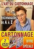 Lot 2 DVD L'art du cartonnage : Techniques de A à Z et Pratiques de A à Z...