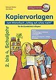 """Kopiervorlagen zum Wörterbuch """"Schlag auf, schau nach!"""": für die Grundschule in Bayern"""