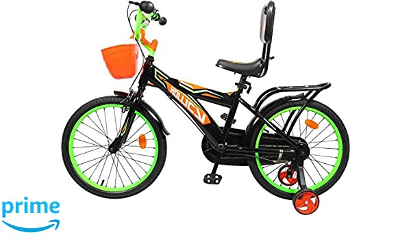 Buy Hollicy Fury 20 Plastic Bicycle Kids 20 Inch Black Green