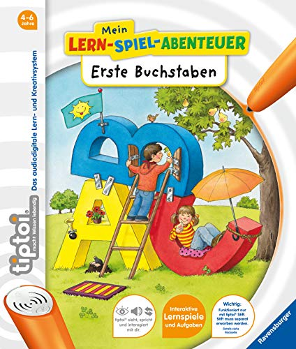 tiptoi® Erste Buchstaben (tiptoi® Mein Lern-Spiel-Abenteuer) - 3