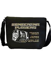 Concertina Squeeze Harder - Sheet Music Document Bag Musik Notentasche MusicaliTee