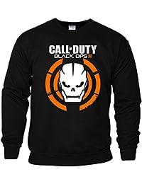 Call Of Duty Black Ops III Herren Sweat Game Logo mit dem Schädel