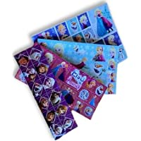 Toys & Gamers 4 x Quality Licensed Sticker Sheets Favourite Characters Perfect for Party Bag Fillers (Frozen)