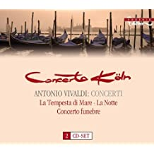 Vivaldi: Concerti - La tempesta di Mare, La Notte, Concerto funebre