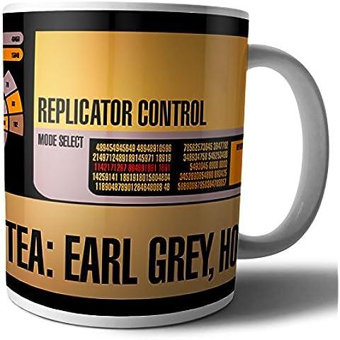 Star Trek: La próxima generación–Capitán Picard té Earl Grey caliente taza