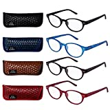 Best Style Eyes Quality Reading Glasses - EYEGUARD READERS Multiple Pairs of P4 Style Retro Review