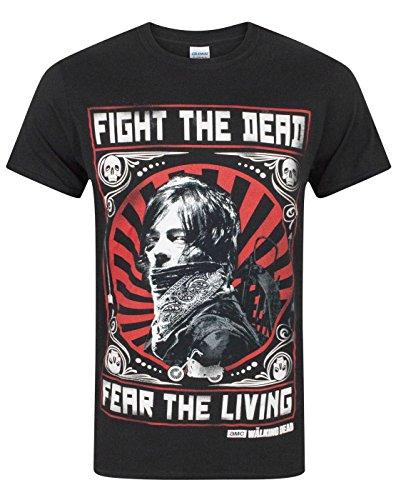 The Walking Dead Daryl Fight The Dead Men's T-Shirt