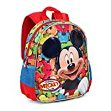 Mickey Mouse Delicious Kinder-Rucksack, 30 cm, Rot (Rojo)