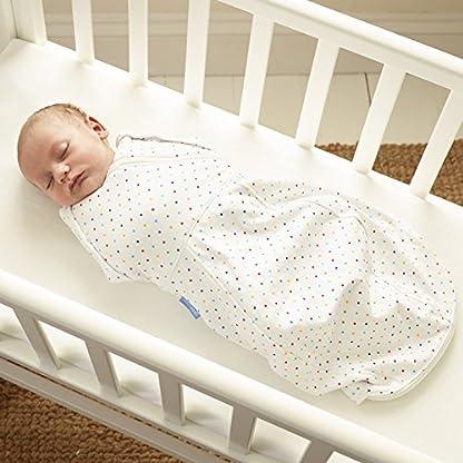 51GuTRNRN L. SS416  - The Gro Company - Saco de dormir cómodo y caliente para recién nacido/envoltura (de 2,3 a 5,4 kg, color gris marga/acogedor) multicolor multicolor Talla:Newborn 5-12 lbs
