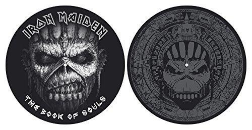 """Iron Maiden """"Book Of Souls"""" Slipmat-Set für Plattenspieler"""