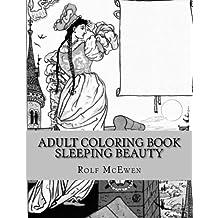 Adult Coloring Book - Sleeping Beauty