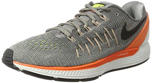 0681e3844b413 Nike Air Zoom Odyssey 2, Men's Competition Running Shoes, Grey  (Staub/schwarz/hyperorange/volt), 7 UK (41 EU)