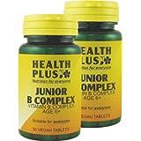 Health Plus Junior B Complex Children's Vitamin B Supplement - 2 x 30 Tablets (60 tablets)