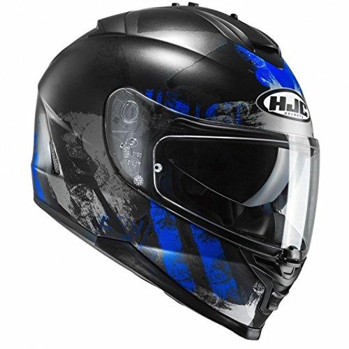 HJC IS-17 - SHAPY / MC2SF - Integralhem/Sporthelm/Motorradhelm, GröàŸe:XXL