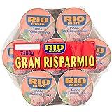 TONNO IN SCATOLA RIO MARE OLIO D'OLIVA LATTINA DA 7 x 80 GR CONFEZIONE RISPARMIO