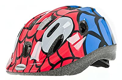 Raleigh Mystery Spiderman Boys Cycle Helmet by Raleigh