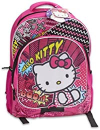 "Sanrio Hello Kitty 16"" Large School Backpack - B00E0TP8LI"