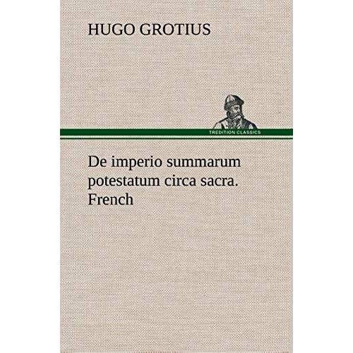 de Imperio Summarum Potestatum Circa Sacra. French