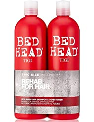 Tigi BED HEAD Tween Duo Shampoo and Conditioner Resurrection, 1er Pack (2 x 750ml)
