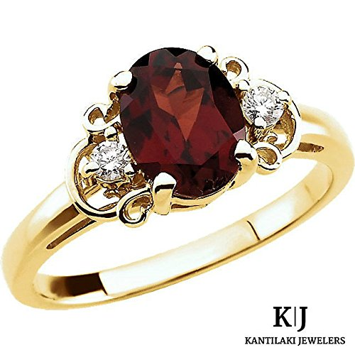 14k-solid-yellow-gold-genuine-mozambique-garnet-and-real-diamond-accented-ring