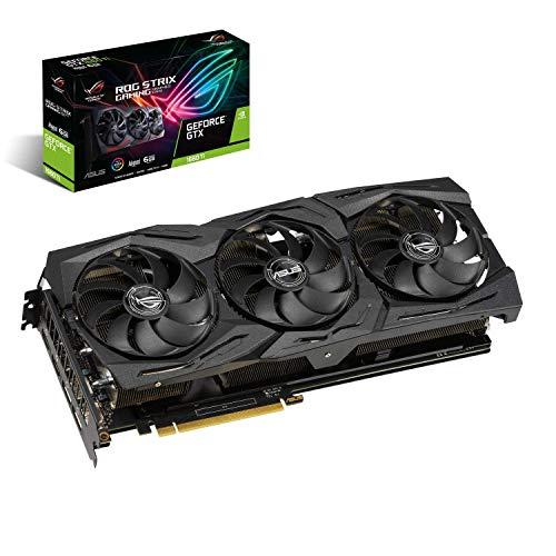 ASUS GeForce Strix GTX 1660TI 6GB DDR6 HDMI DP 1.4 USB Graphic Card (ROG-STRIX-GTX1660TI-A6G-GAMING)