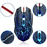 SPIDER KING J-7 Scorching HOT Advance Gaming Optical Mouse with Coloured Lighting Effect