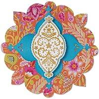 Sizzix Label/Casablanca Bigz Die - Aparato para cortar diseños en papel, cartón,