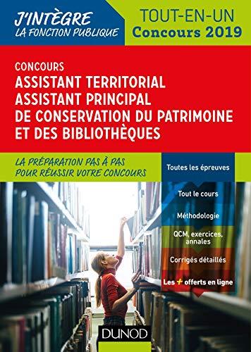Concours Assistant territorial de conservation du patrimoine et des bibliothèques - Concours 2019: Tout en un - Concours 2019