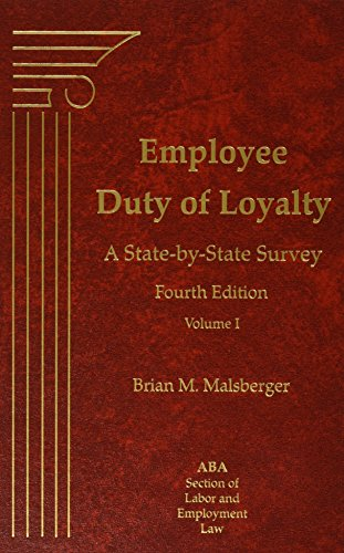 Employee Duty of Loyalty: A State-by-State Survey
