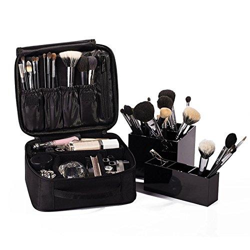 Vin beauty wlgreatsp Couleur unie Portable étanche Profession Sac cosmétique Sacs de cas de maquillage
