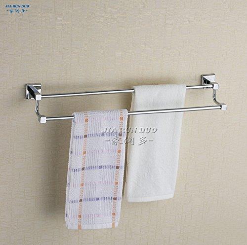 LLLDB tutti rame portasciugamani barra doppia porta asciugamani bagno asciugamani Cu tutte bagno appendiabiti cremagliere , Generale 40cm