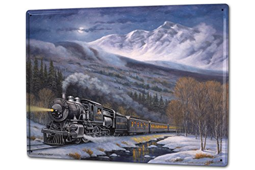 cartel-letrero-de-chapa-xxl-modelo-ferrocarril-nieve-tren-de-montana-nostalgia