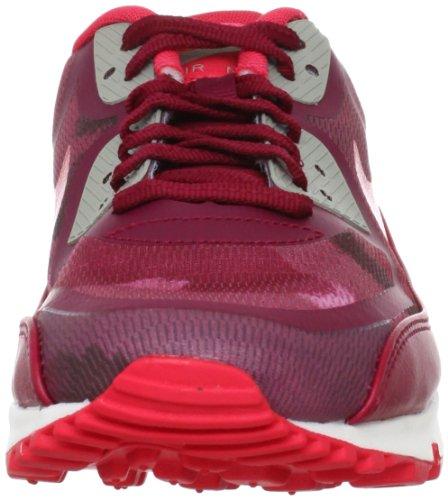 Nike–Pantaloni da donna Air Max 90PRM NASTRO Hyperfuse * RARE * Camo Fusion, colore: rosso Rosso