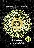 Das große Mandala Malbuch: Blumen 2 - Malbuch für Erwachsene - Mit 50 weiteren entspannenden Blumen-Mandalas (German Edition)
