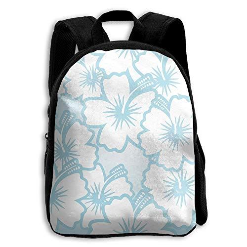 ADGBag Children's Flower Hibiscus Seamless Backpack Schoolbag Shoulders Bag for Kids Kinder Rucksack -