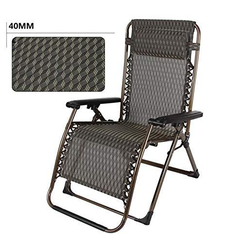 Hxx Schaukelstühle Oversize XL gepolsterte Schwerelosigkeit Lounge Chair breitere Armlehne verstellbare Liege Unterstützung £ 300 (Farbe: A),A -
