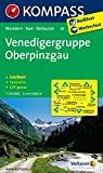 Venedigergruppe - Oberpinzgau: Wanderkarte mit Kurzführer, Radrouten, Skitouren und Panorama. GPS-genau. 1:50000 (KOMPASS-Wanderkarten, Band 38)