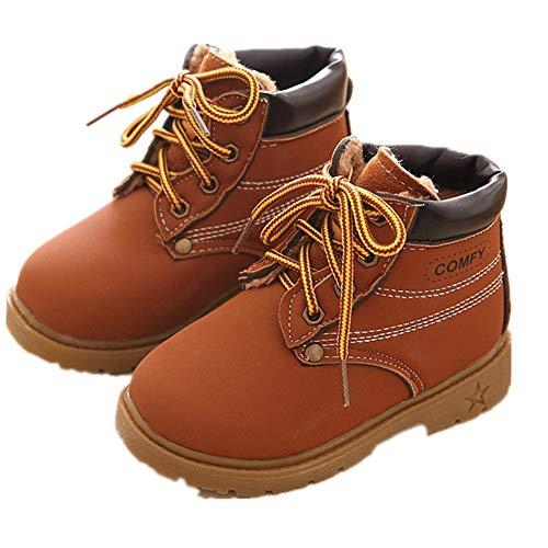 Botas de Niño,Otoño e Invierno 1-6 años Niño Niña Bebe Zapatos Martín Botas de Botines Zapatillas...