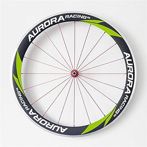 Aurora Racing Full Carbon UD Mat pour vélo de route Pneu jantes en alliage de 50mm de frein côté 25mm de largeur pour Campagnolo DT Swiss 240s hub Sapim Cx-ray
