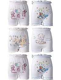 BODYCARE Pure Cotton Multi-Coloured Bloomer for Girls & Kids (2200)